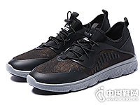 木林森男鞋网布跑步鞋