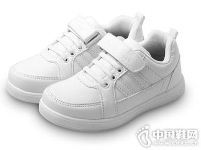 四季熊女童运动鞋耐磨软底学生鞋