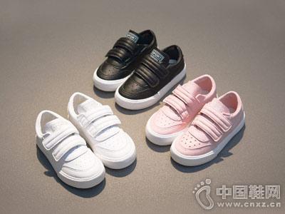 海绵宝宝新款中大童小白鞋