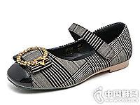 新款韩版好榜样女童皮鞋