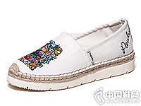 懒人鞋Tt&Mm汤姆斯帆布鞋韩版潮涂鸦