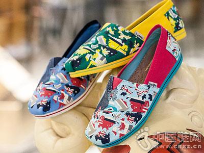Tt&Mm汤姆斯刺绣小白鞋帆布渔夫鞋