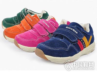 基诺浦2018新款童运动网鞋机能鞋