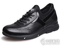 田宇增高鞋真皮运动鞋6cm潮鞋