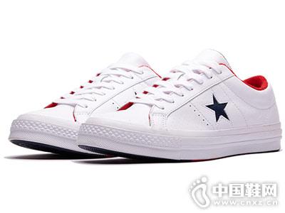 CONVERSE匡威新款小白鞋板鞋