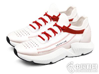 增高鞋运动休闲鞋厚底秋新款高哥ins男鞋