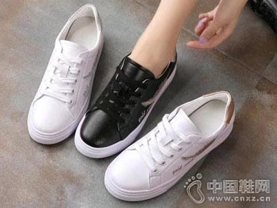 印心鸟韩版小白鞋百搭学生平底鞋