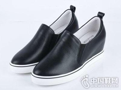 大公时休闲女鞋厚底单鞋