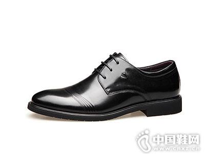 男士皮鞋WECKER老爺車新款
