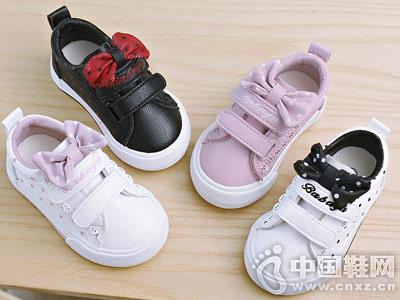 儿童小白鞋女孩芭芭鸭百搭公主鞋
