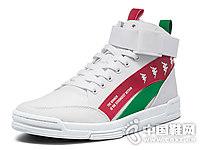 kappa卡帕串休闲鞋潮百搭小白鞋2018新款