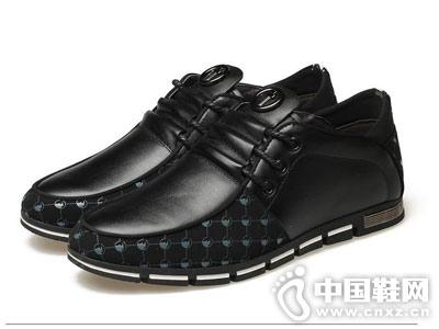德尼尔森男鞋新款潮流休闲皮鞋