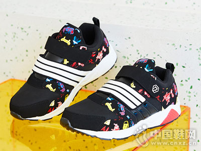 2018秋季新款儿童时尚七波辉运动鞋