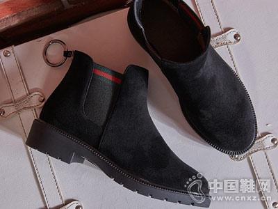2018新款秋冬季百搭涉趣短靴