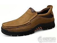 秋季西域骆驼防滑户外男鞋