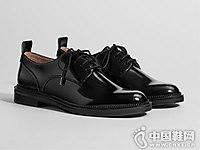 2018秋季新款黑色英伦风Bershka单鞋