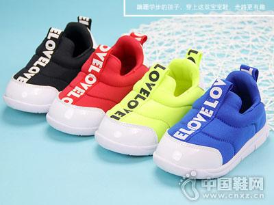 卡巴奇儿童学步鞋 柔软舒适,透气防滑