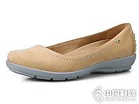 COZYSTEPS秋款磨砂皮女单鞋复古铆钉女鞋