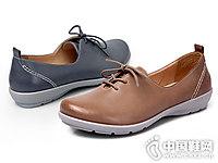 新品头层牛皮浅口COZY STEPS单鞋