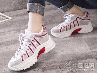 �鄄�路AISSBORO18新款老爹鞋
