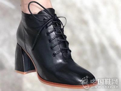 踝靴新款AISSBORO