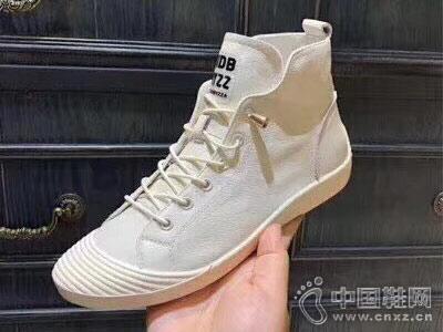 休闲帆布鞋高帮AISSBORO新款