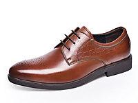 金猴皮鞋2018新款英��男鞋