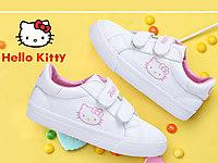 女童小白鞋HELLO KITTY童鞋