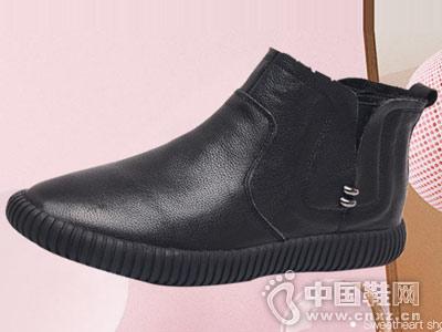 皇妹2018秋季新款女鞋弹力布百搭单鞋
