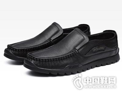 保�_�w帝真皮男鞋商�招蓍e鞋一�_蹬