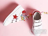 明璐童鞋秋季新款女童小白鞋