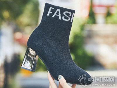 女靴新款时尚比爱靓点女鞋
