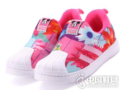 迪士尼童鞋2018秋新款貝殼運動鞋