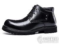 Zero零度靴子冬季新品中帮英伦皮靴