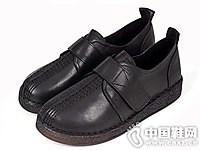 老美华秋季妈妈鞋舒适平底女鞋