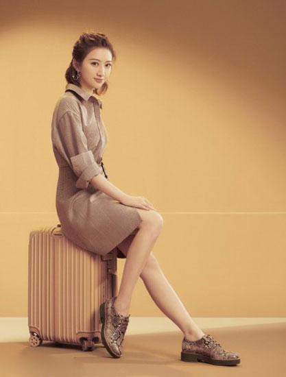 GEOX健乐士女鞋2018秋冬新款代言人广告大片