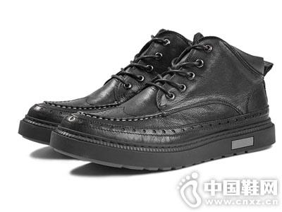 男士短靴英���L�凸篷R��杜克潮鞋