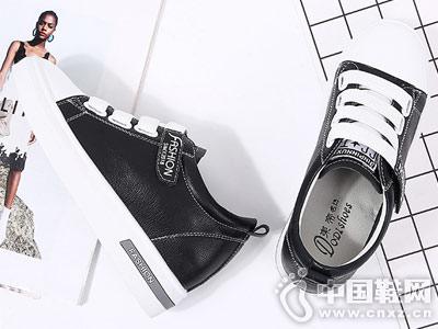 内增高网红女鞋小白鞋女2018东帝名坊新款