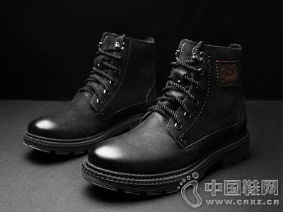 公牛巨人靴子男韓版潮流休閑馬丁靴