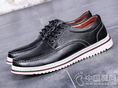 木林森男鞋冬季休闲韩版真皮板鞋