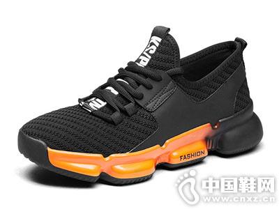 君步运动休闲鞋透气鞋潮跑步