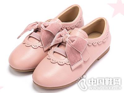 2018新款富罗迷童鞋 少女小蝴蝶结