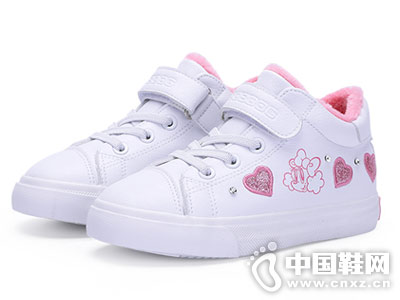 小白鞋2018秋冬新款韓版巴布豆運動鞋