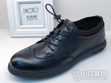 新款板鞋复古英伦德赛帝伦布洛克男鞋