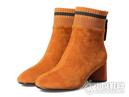 秋冬季短靴2018新款都市情人百搭英伦