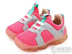 哈休童鞋宝宝运动鞋女1-3岁学步鞋
