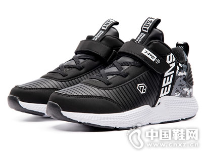 七波輝男童鞋2018新款秋冬季潮流運動鞋
