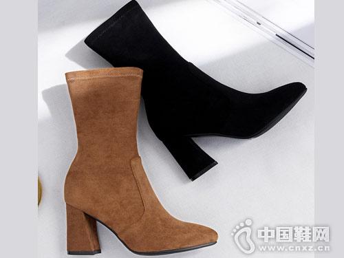 2018秋季新款OBT欧百特弹力靴