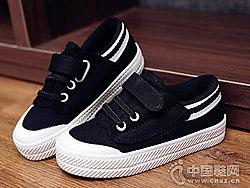 2018新款潮�n版透�庑蓍e童布鞋