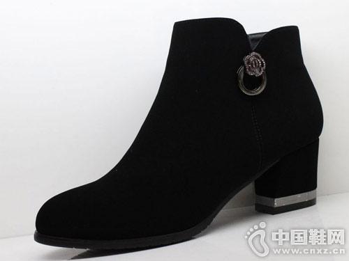 三雄麒2018冬季新款百搭马丁靴